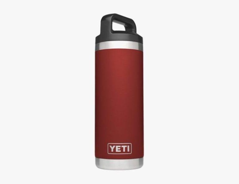 Migliore bottiglia a bocca larga isolata Yeti Rambler