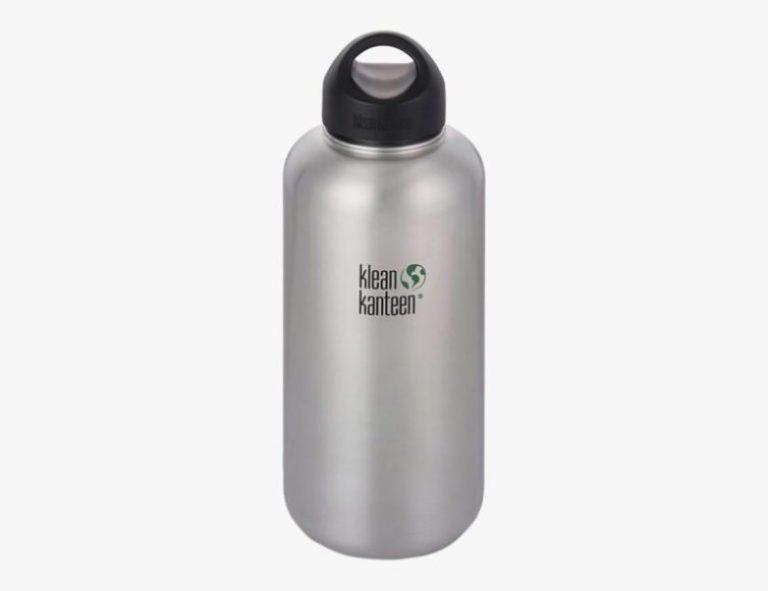 Migliore bottiglia a bocca larga non isolata Klean Kanteen