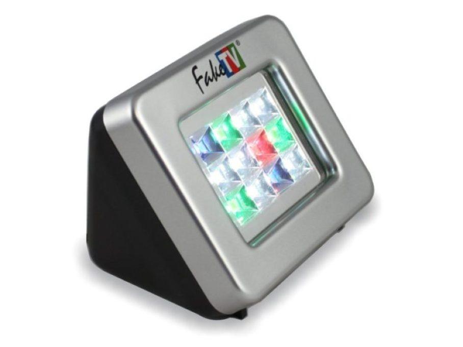 Il miglior simulatore TV per scoraggiare i ladri FakeTV FTV-11 Extra Bright Burglar Deterrent TV Simulator