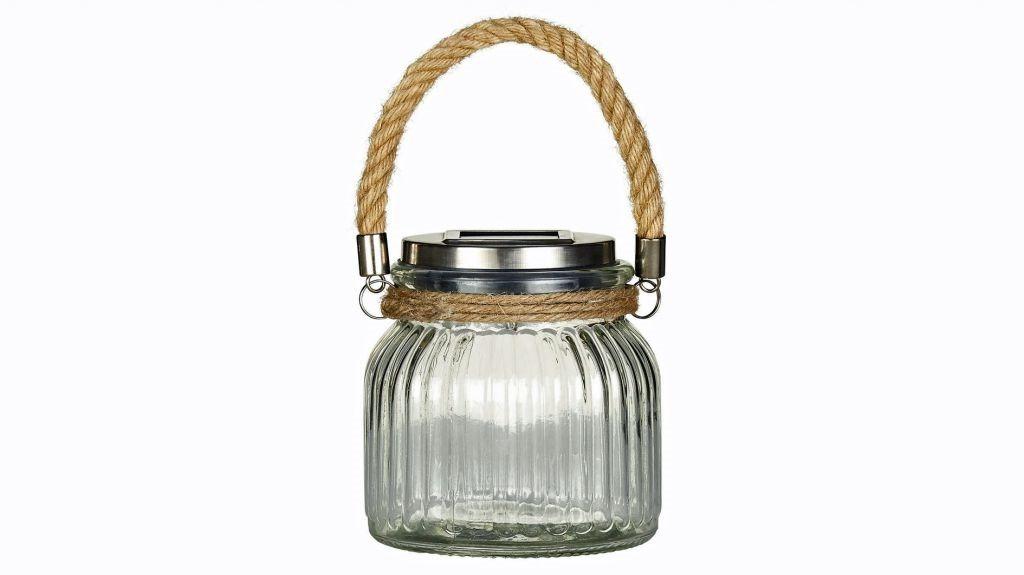 Le migliori lanterne solari per il tuo giardino JOHN LEWIS FLINT SOLAR GLASS OUTDOOR LIGHT