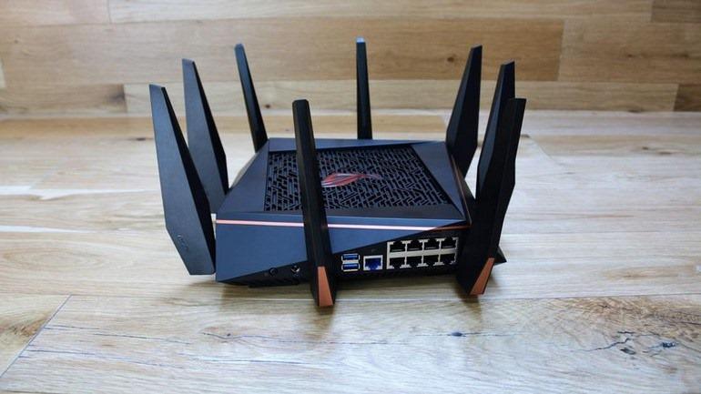 Miglior router per appassionati e giocatori seri Asus ROG Rapture GT-AC5300