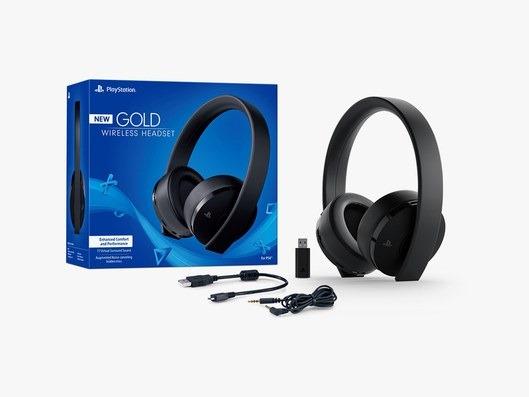 PIÙ INTEGRATO CON PS4 Sony PlayStation Gold Headset (2018)