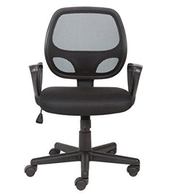 Sedia da ufficio girevole con schienale in rete di Amazon Office Essentials