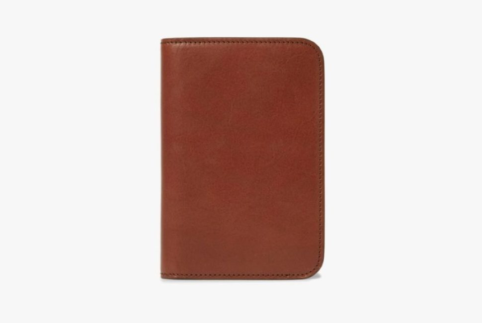James Purdey and Sons Leather Passport Cover