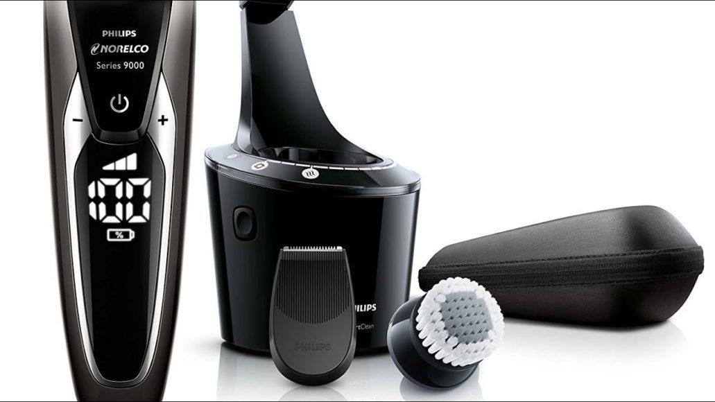 Scelta principale Rasoio elettrico Norelco Philips con spazzola detergente