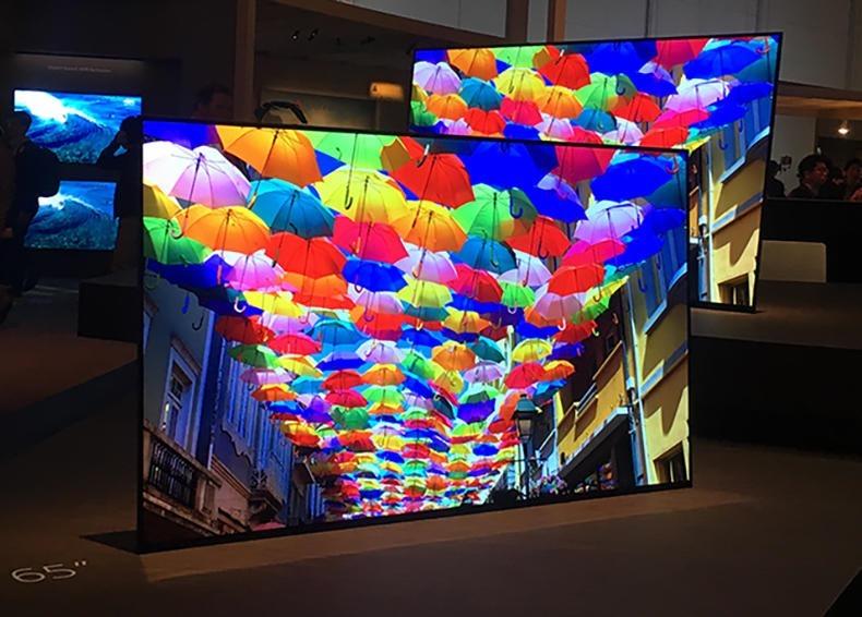 Su un mobile da televisore sembra piuttosto spettacolare