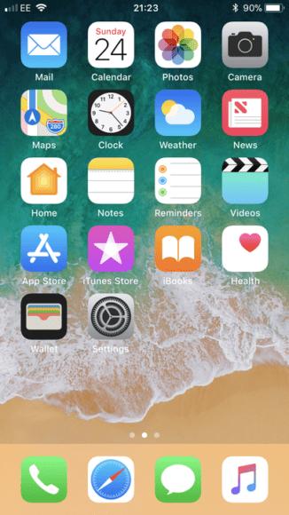 In generale, iOS 11