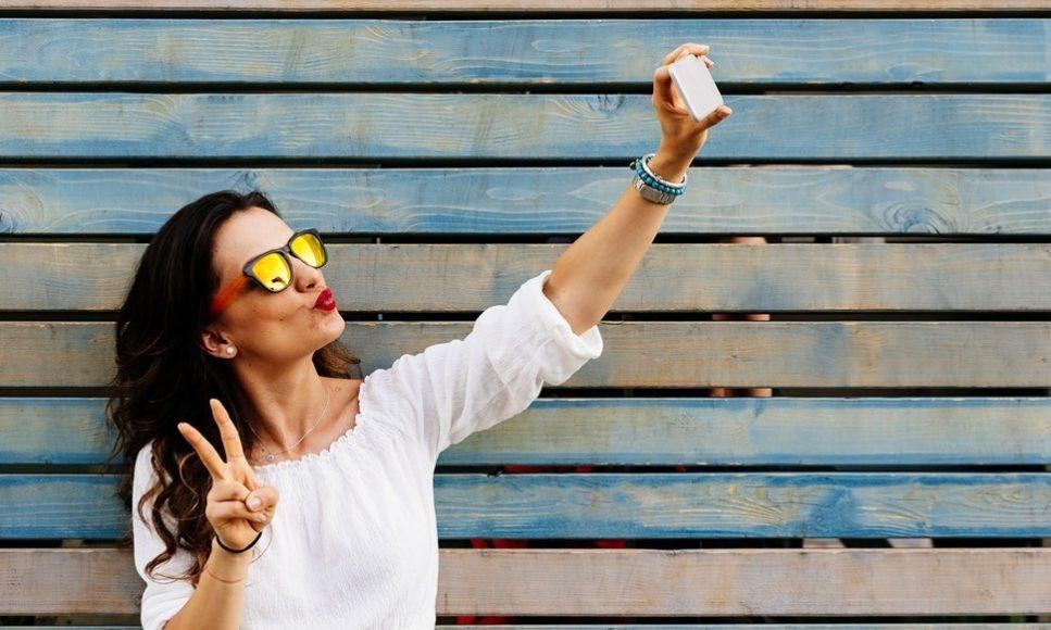 La nuova modalità di messa a fuoco selfie a volte sfuma la cosa sbagliata