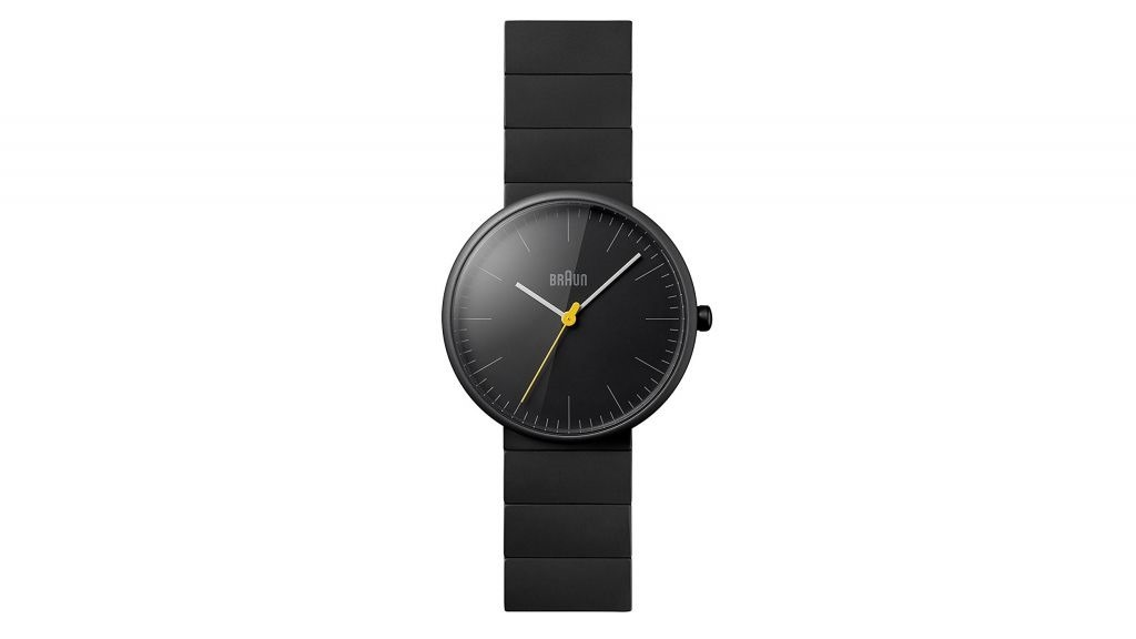 Braun iconico orologio minimalista