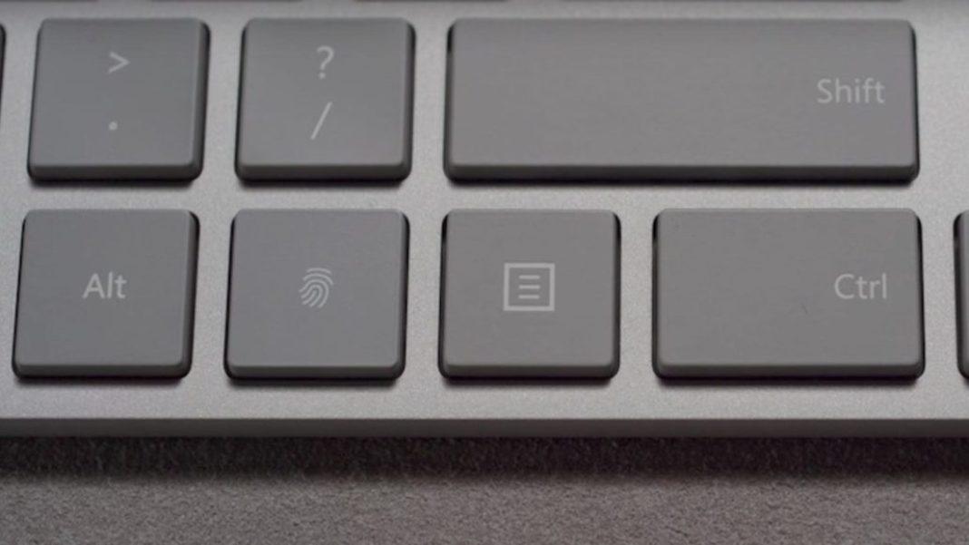 Microsoft Modern Keyboard with Fingerprint ID - Solida costruzione