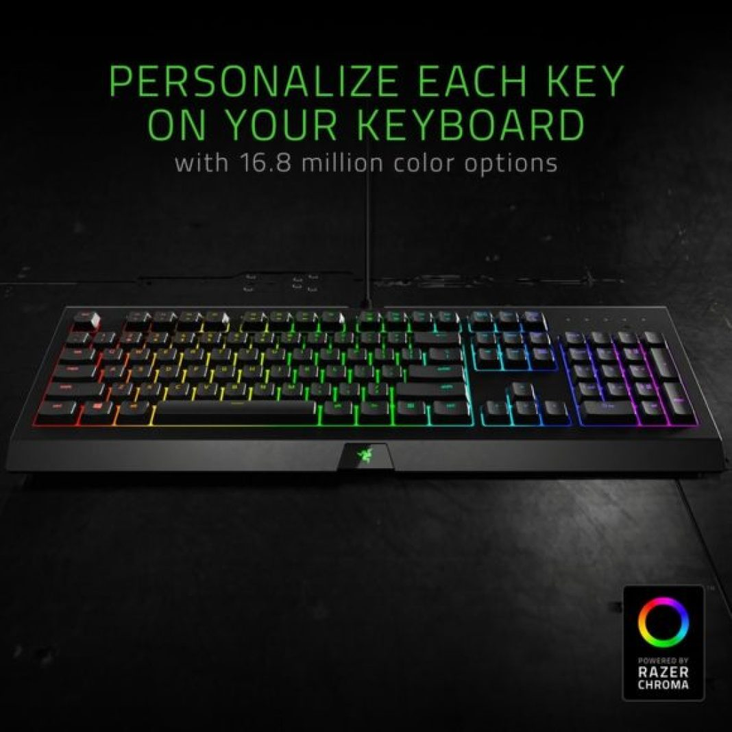 Razer Cynosa Chroma — Software e illuminazione