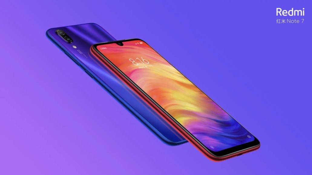 Redmi Note 7 – Design