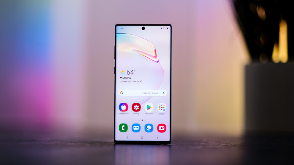 Samsung Galaxy Note 10+: miglior business smartphone