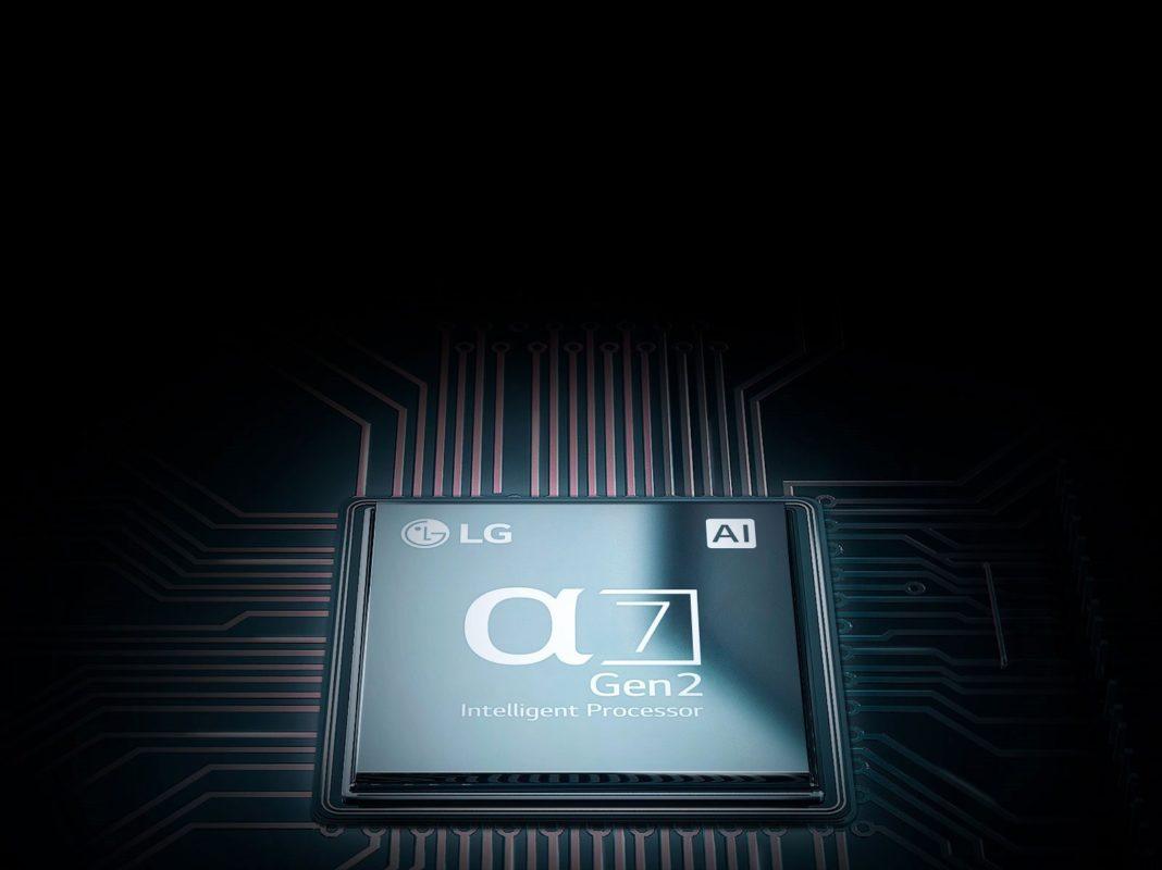 LG OLED B9 – Processore