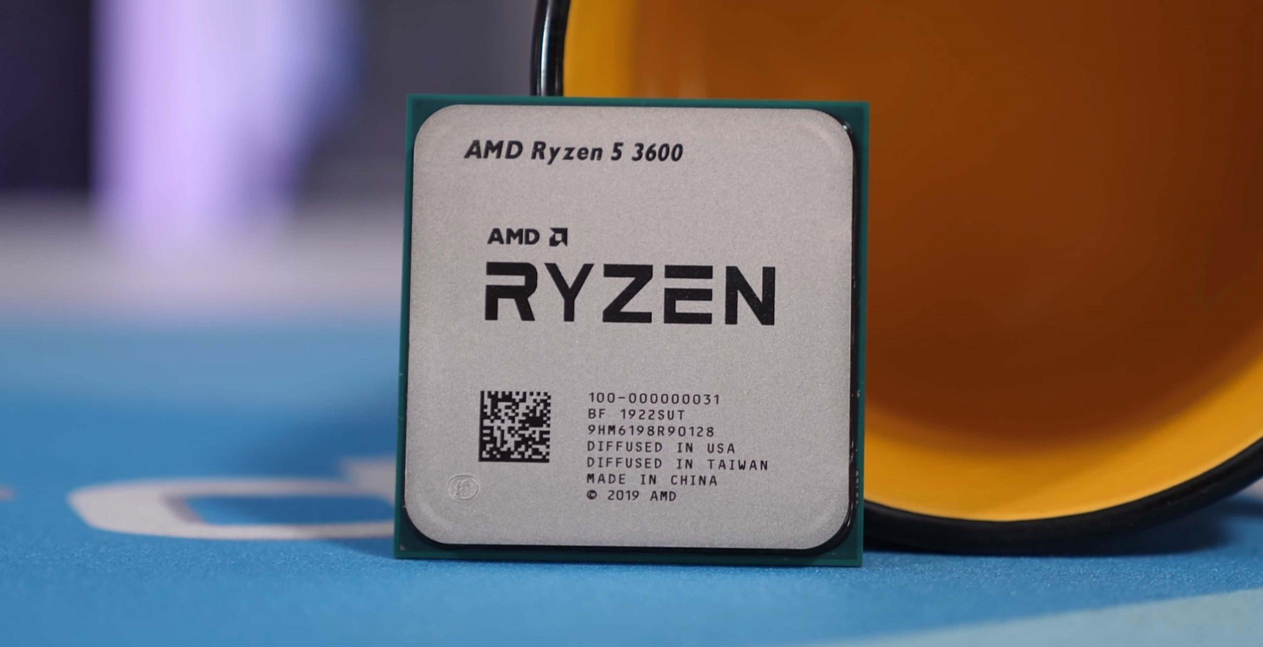 AMD Ryzen 5 3600: miglior processore gaming