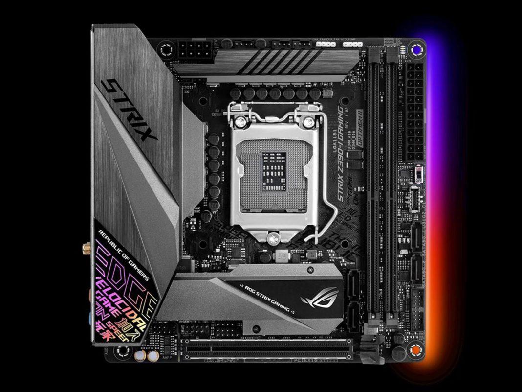 "Asus ROG Strix Z390-I Gaming: scheda madre Intel mini-ITX ""economica"""