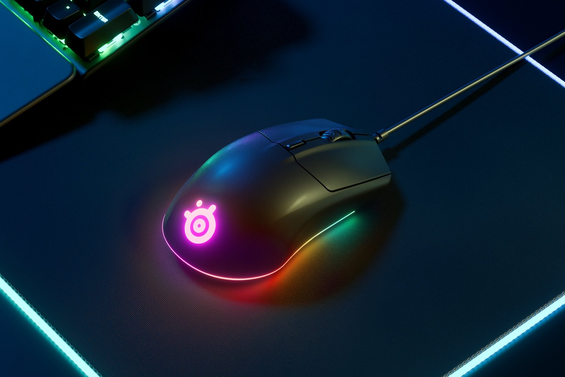 SteelSeries Rival 3: miglior mouse gaming economico
