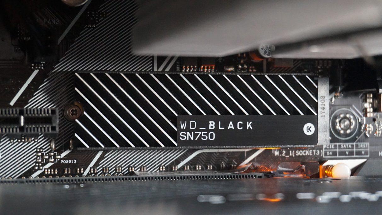 WD Black SN750: miglior SSD NVMe gaming
