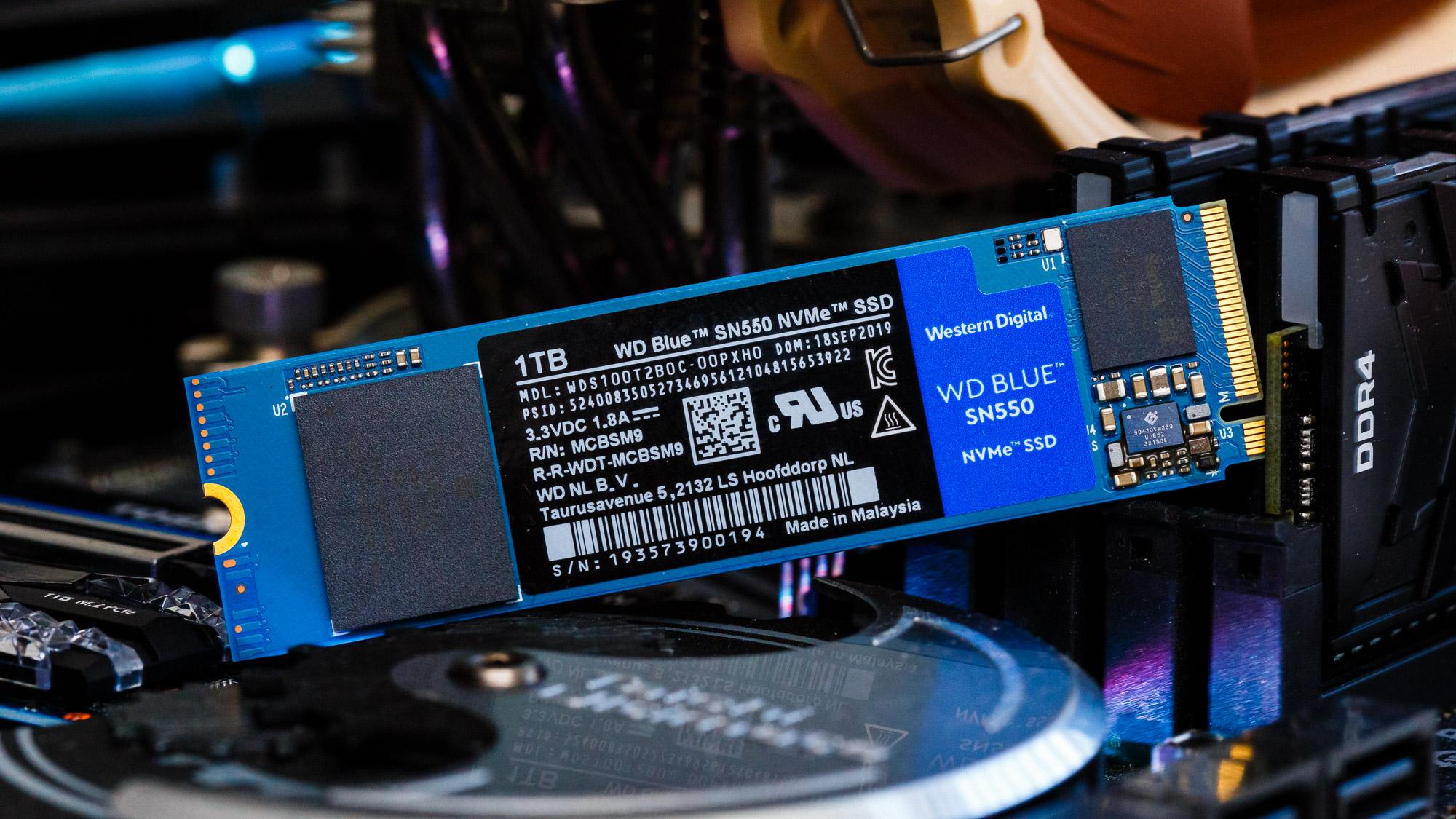 WD Blue SN550: l'SSD NVMe più economico