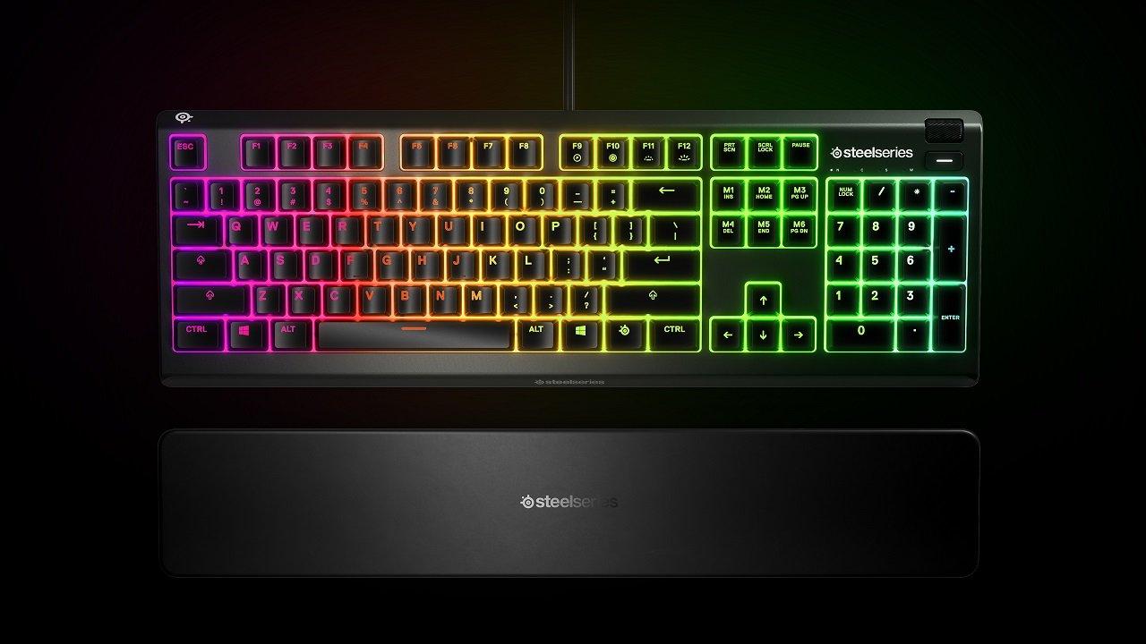 SteelSeries Apex 3: miglior tastiera gaming economica