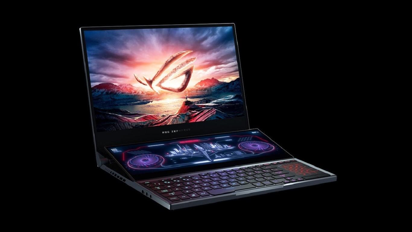 Asus ROG Zephyrus Duo 15 (GX550): miglior portatile gaming a doppio schermo