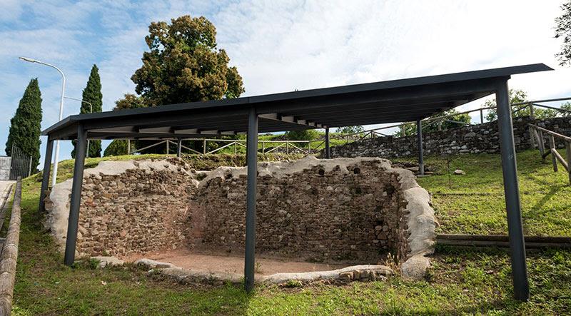 Cisterna altomedievale (foto di Graziano Soravito)
