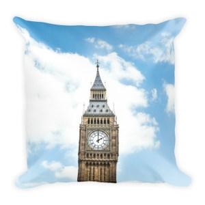London Skies Pillow