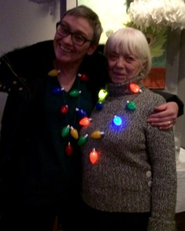Frances West, co-owner of Southern Accent (right) with Donna MacFarlane, member of Palmerston Residents' Association.