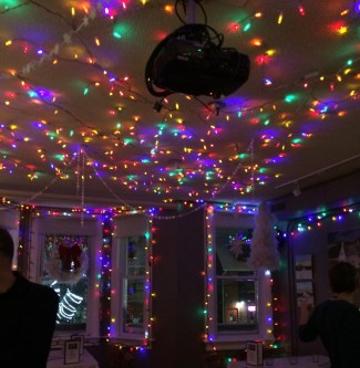 All decorated for a party