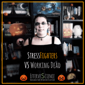 HalloQueen Stress Fighters VS Working Dead