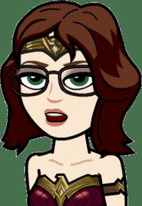 WonderWoman bitmoji