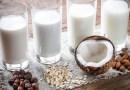 lait de soja, lait d'amandes, lait, lait de riz, lait de coco