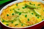 Courgettes gratinées au fromage