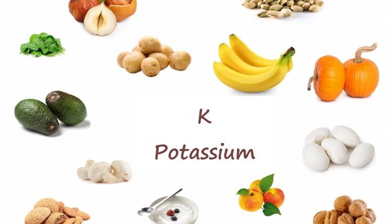aliments riches en potassium, potassium