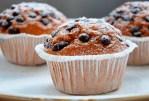 Muffins au chocolat noir et aux bananes