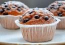 desserts santé, recettes santé, muffins santé