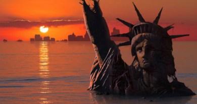 les grands villes sous l'eau, réchauffement climatique