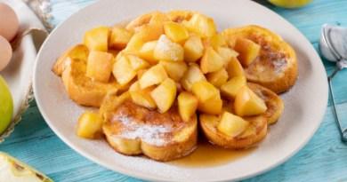 recette santé, déjeuner santé, omelette, recette omelette, recette de crêpes, croûtons