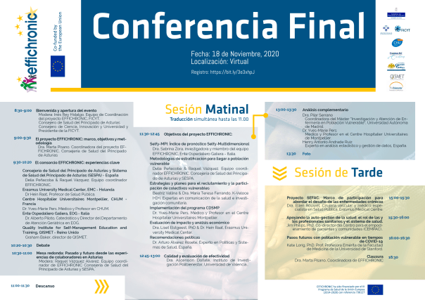 Agenda Conferencia final Effichronic