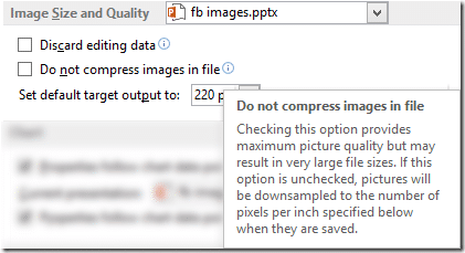 Do not compress images
