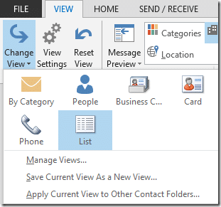 Fastest way of sending mail to multiple contacts
