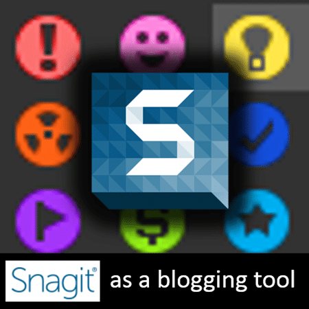 use snagit as a blogging tool