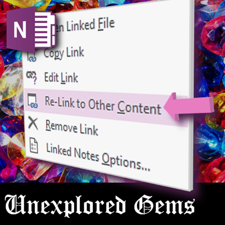 How to re-link linked notes in onenote - Dr. Nitin Paranjape