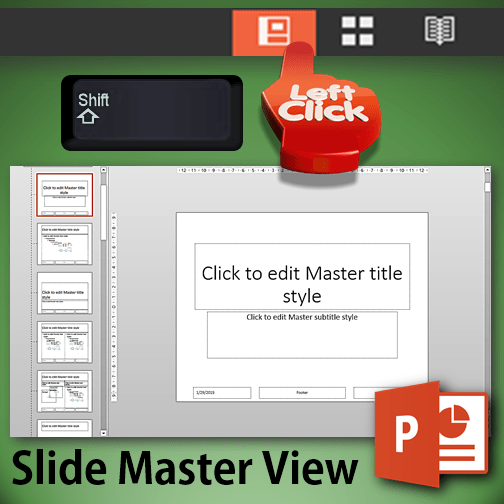 slide master view in one click - Dr. Nitin Paranjape
