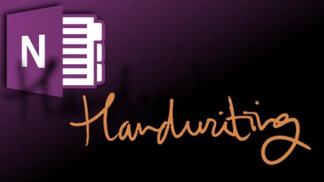 Onenote handwriting