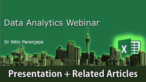 Presentation download for Data Analytics Webinar
