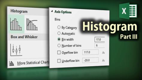 Histogram in Excel 2016