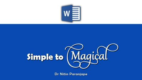 Word simple to magical