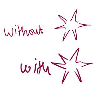 Drawing using a pen in OneNote
