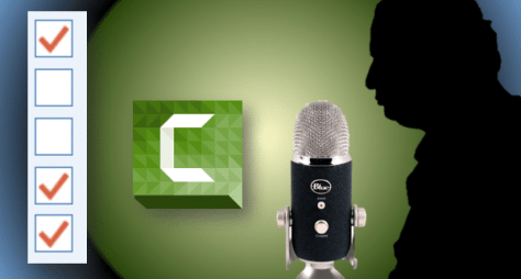 Screencast Recording Checklist